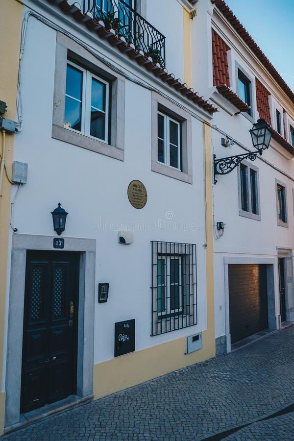 Cascais, Portugal, novembre 2017 : Mircea Eliade House dans Cascais images libres de droits