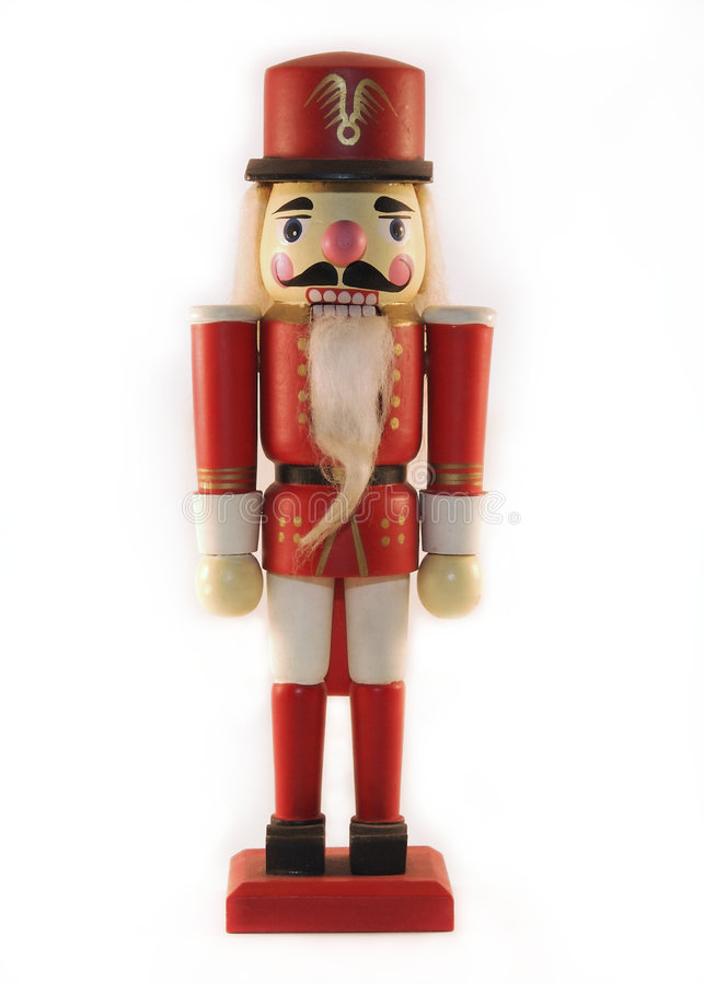 Cascanueces de la Navidad imagenes de archivo