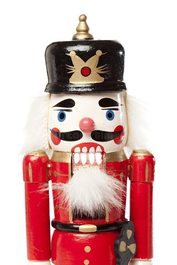 Cascanueces festivo de la Navidad imagenes de archivo