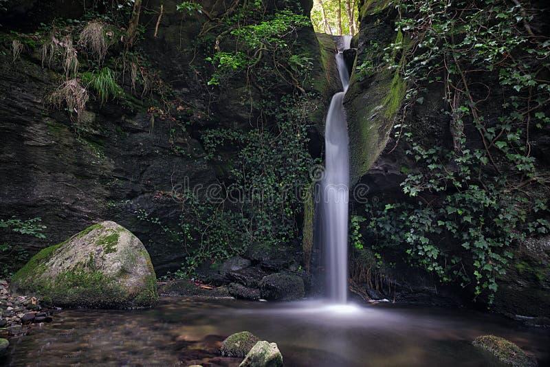 Cascata agli orridi Di Uriezzo fotografia royalty free
