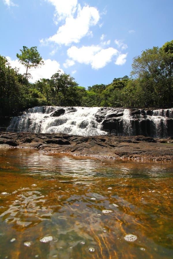 Cascata in Bahia fotografia stock