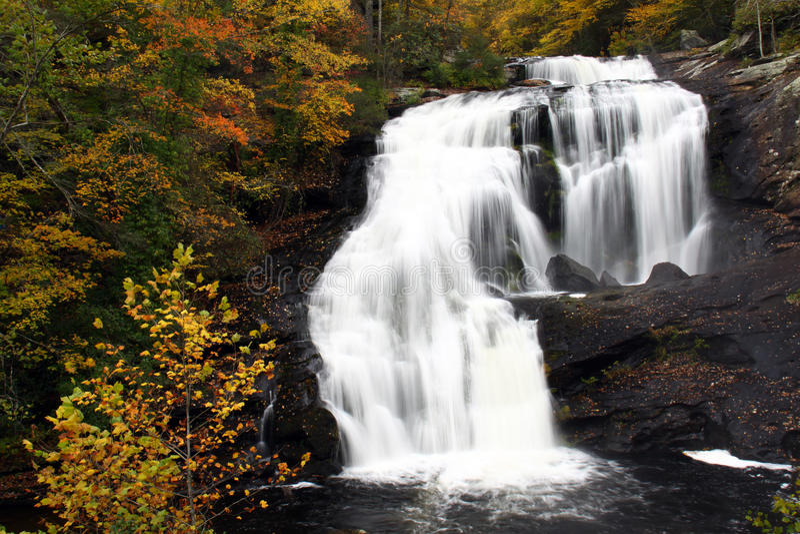Cascata - cadute calve del fiume, Tennessee fotografia stock libera da diritti
