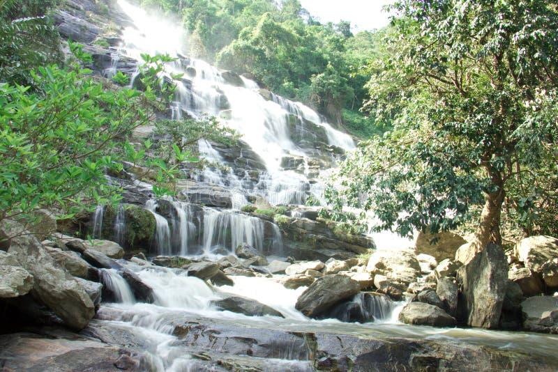 Cascata a Chiang Mai fotografia stock