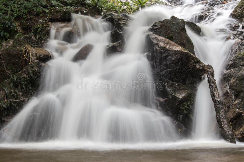 Cascata in Chiang Mai, Tailandia immagini stock libere da diritti