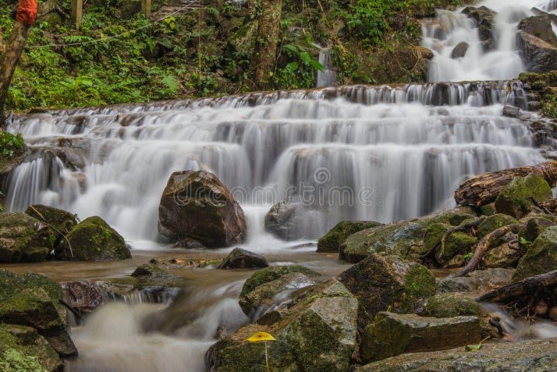 Cascata in Chiang Mai, Tailandia immagine stock