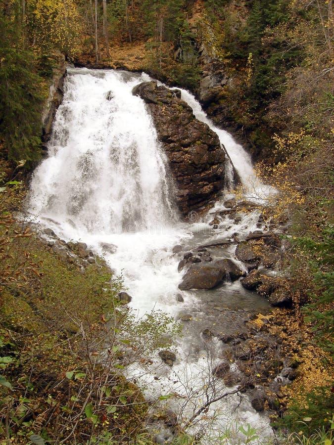 Cascata del fiume dell'aquila fotografie stock libere da diritti