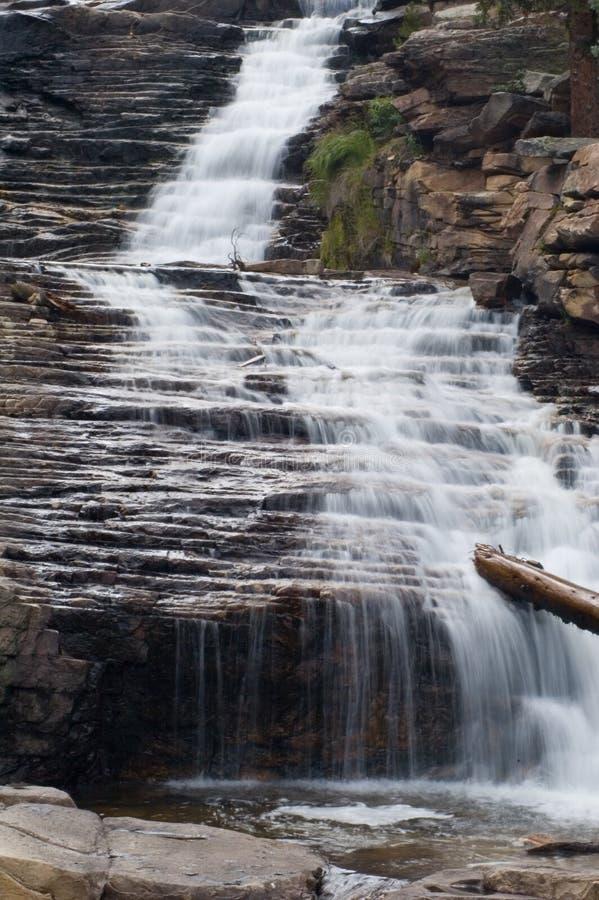 Cascata del fiume di Provo fotografie stock