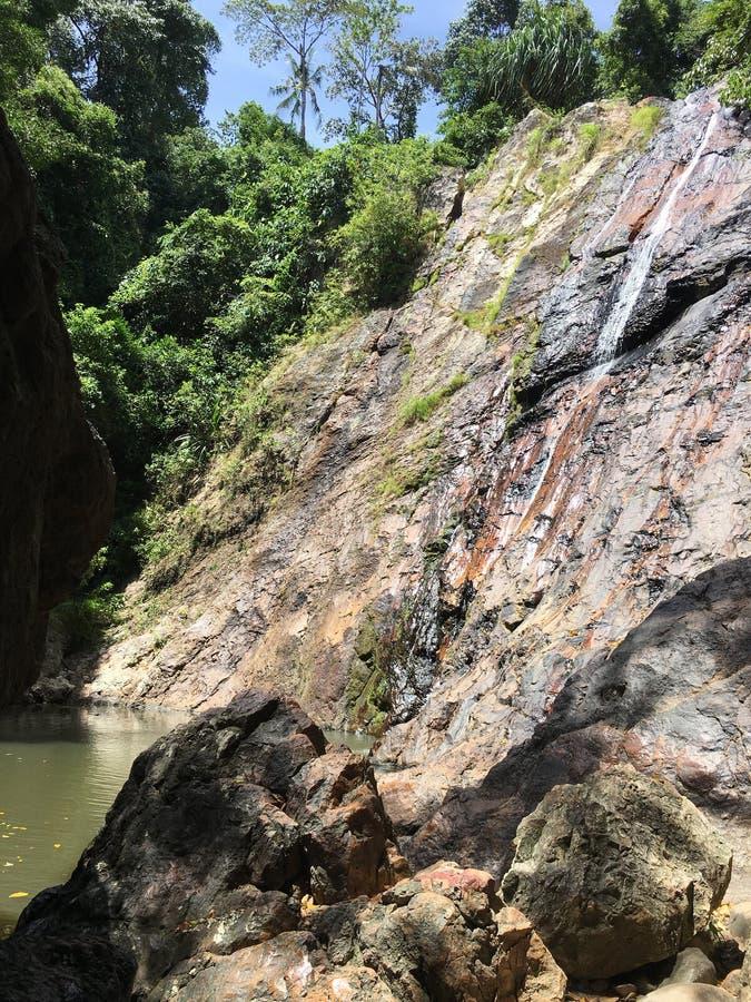 Cascata del Na Meauang immagini stock libere da diritti