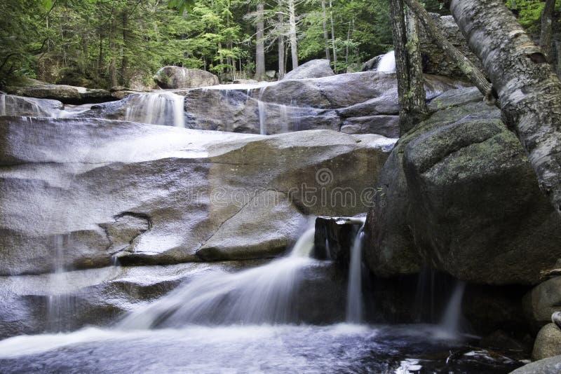 Cascata del New Hampshire fotografia stock libera da diritti