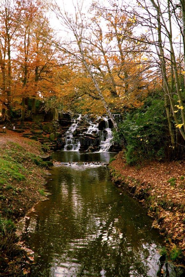 Cascata dell'acqua della Virginia fotografia stock libera da diritti
