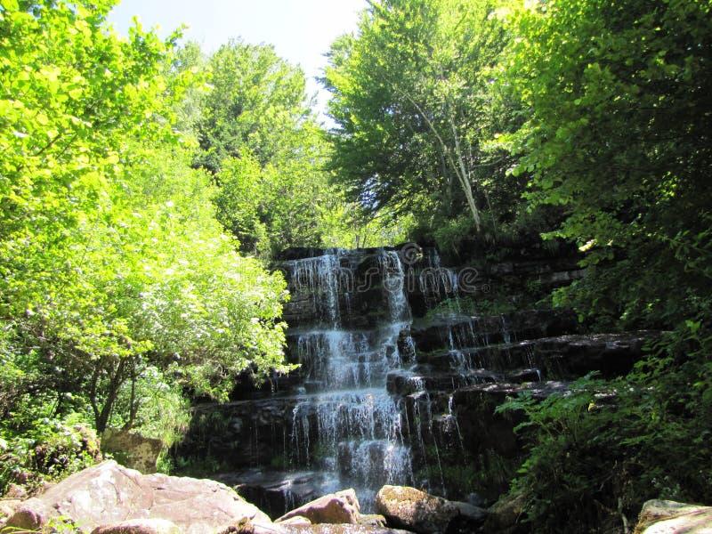 Cascata della cascata fotografie stock