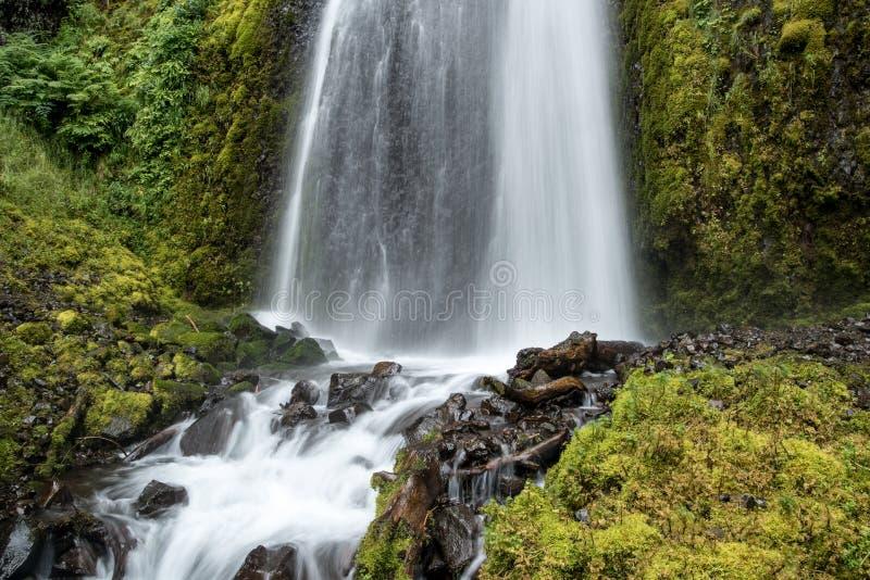 Cascata della gola di Colombia fotografie stock