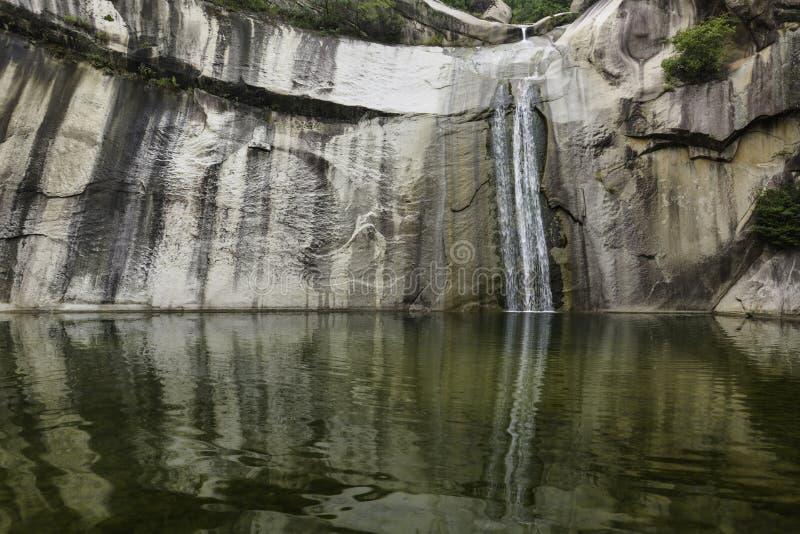 Cascata della montagna immagini stock libere da diritti