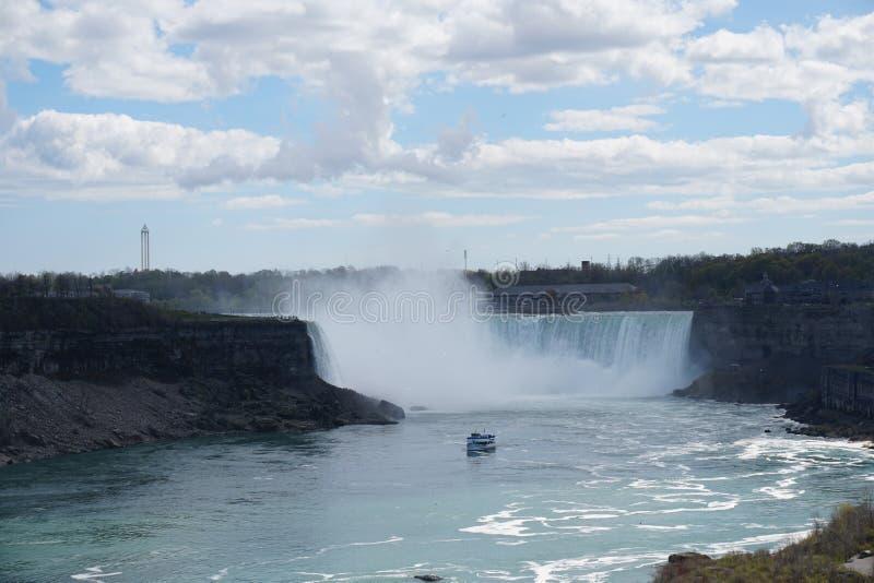 Cascata di cascate del Niagara fotografia stock libera da diritti