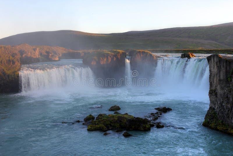 Cascata di Godafoss, Islanda immagini stock