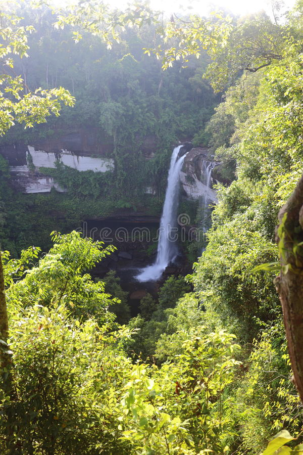 Cascata di Huai Luang immagine stock libera da diritti
