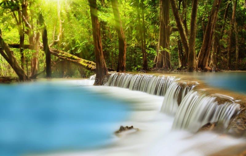 Cascata di Huai Mae Kamin immagini stock