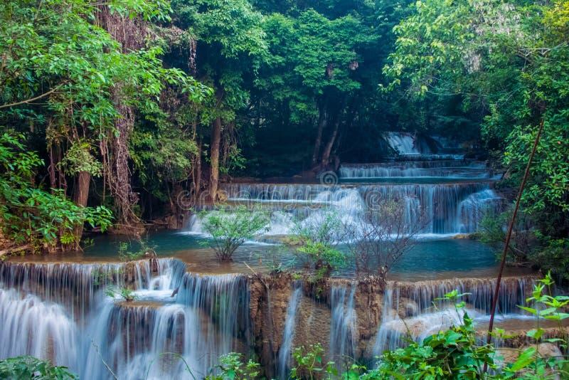 Cascata di Huai Mae Kamin immagini stock libere da diritti
