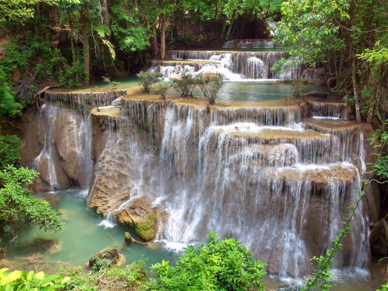 Cascata di Huay Mae Kamin immagine stock libera da diritti