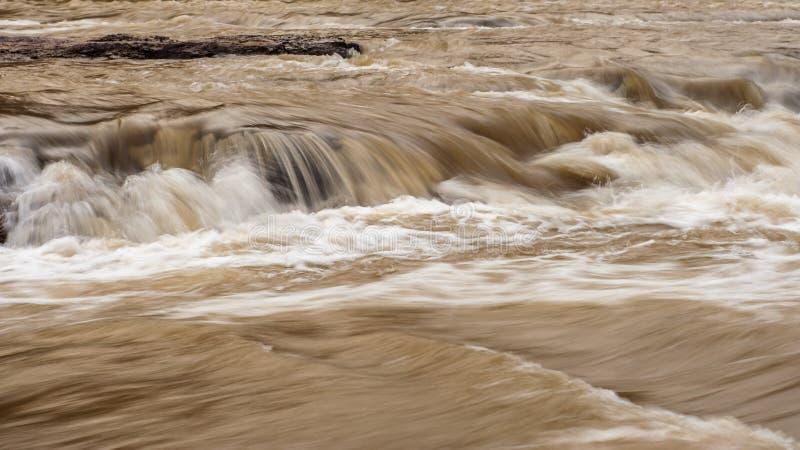 Cascata di Hukou fotografie stock