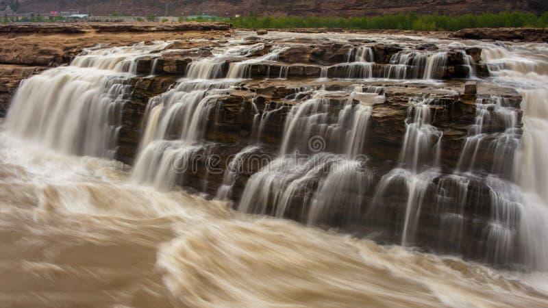 Cascata di Hukou fotografia stock libera da diritti