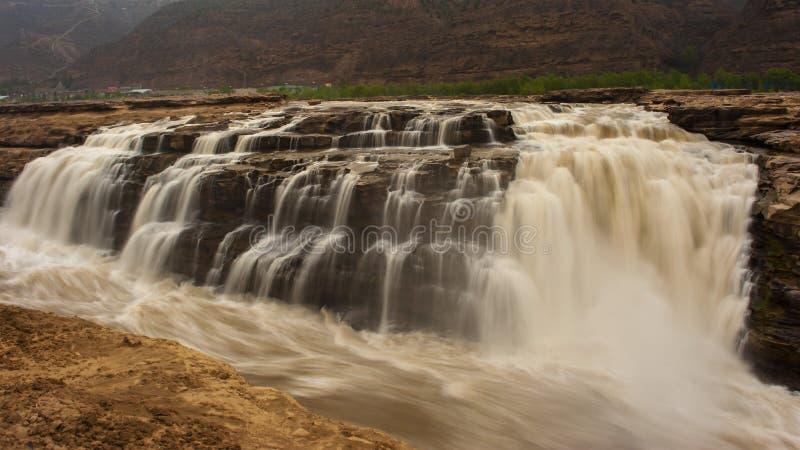 Cascata di Hukou fotografia stock