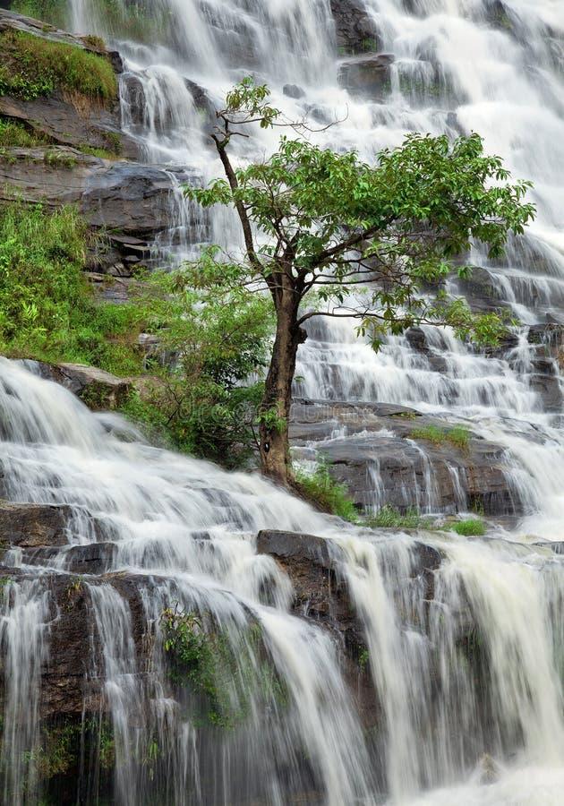 Cascata di Mae Ya in Chiang Mai fotografia stock
