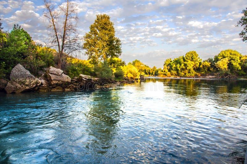 Cascata di Manavgat, Adalia - Turchia fotografie stock libere da diritti