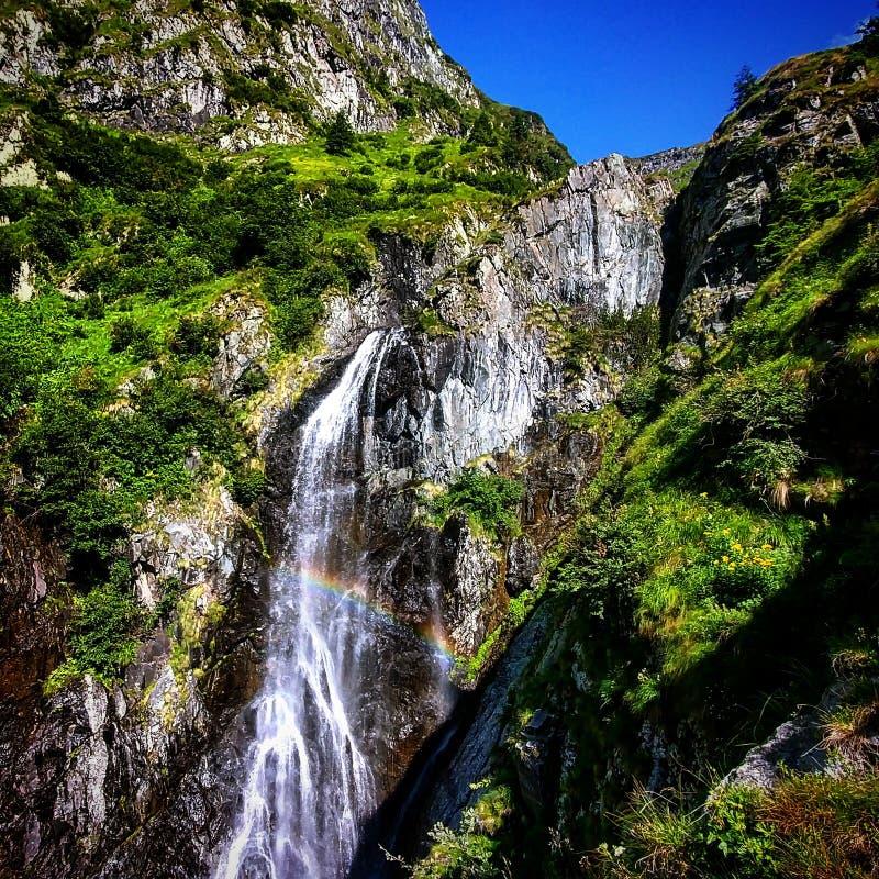 Cascata di Rainbo immagine stock