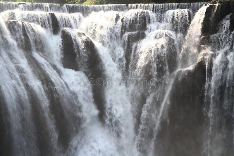 Cascata di Shifen in Shifen, Taiwan fotografia stock libera da diritti