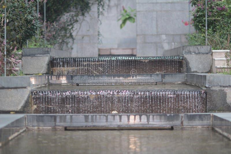 Cascata di Silvermine nel parco del tai po fotografia stock libera da diritti