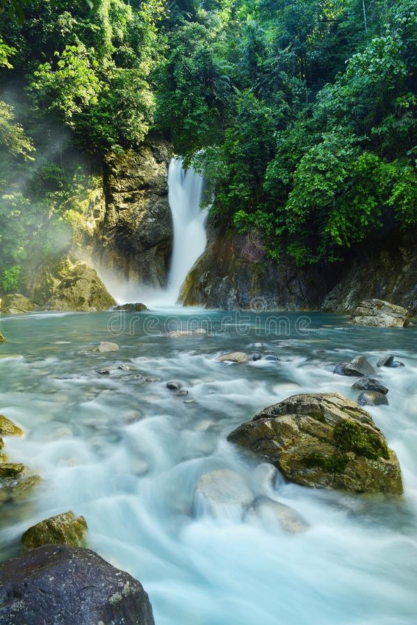Cascata di Sipagogo fotografia stock
