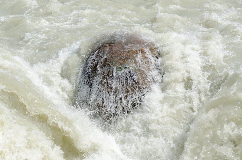 Cascata di Sunwapta fotografie stock