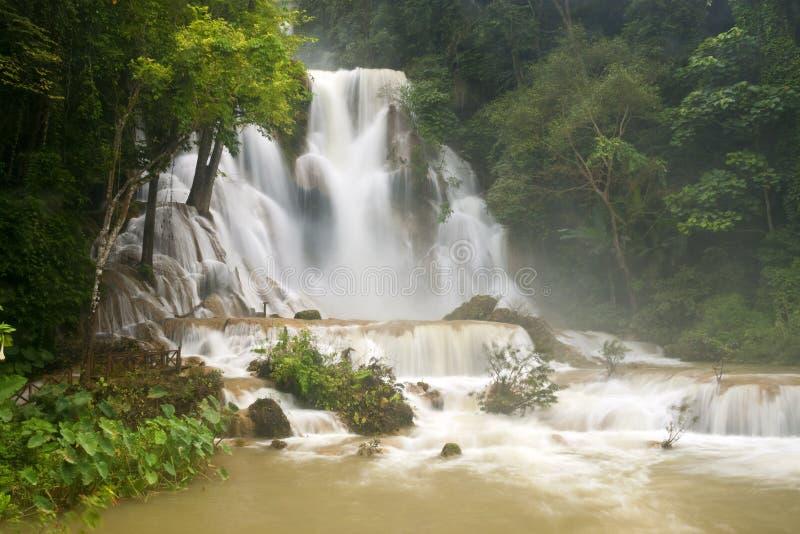 Cascata di Tat Kuang Si fotografia stock libera da diritti