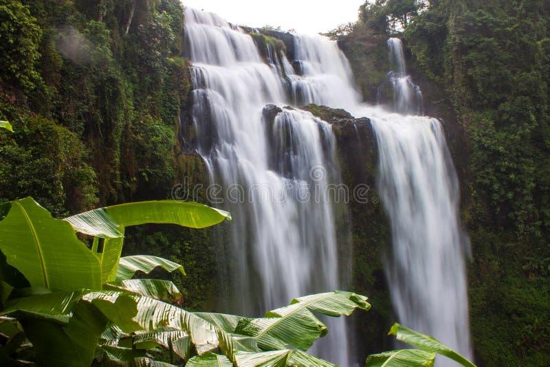 Cascata di Tat Yuang immagine stock