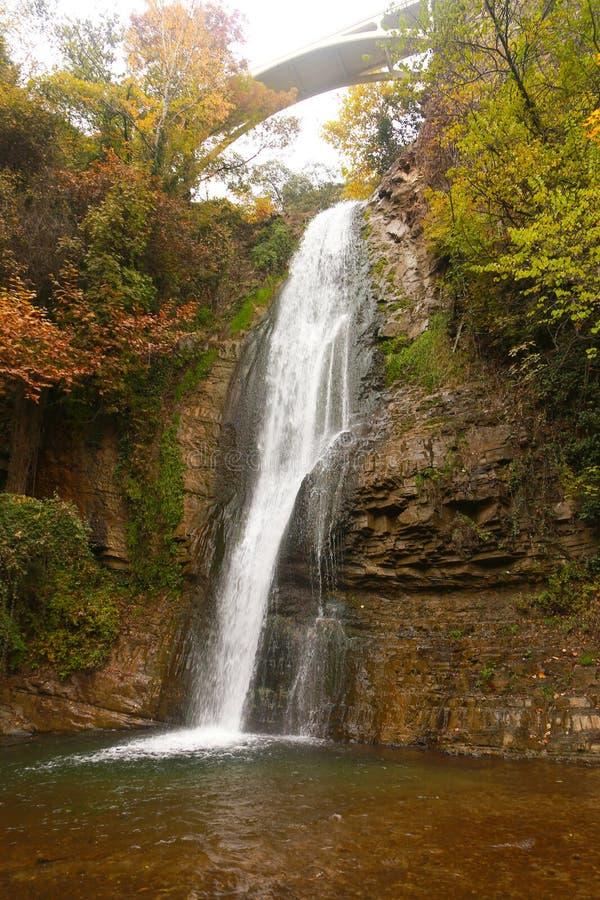 cascata, Georgia fotografie stock libere da diritti