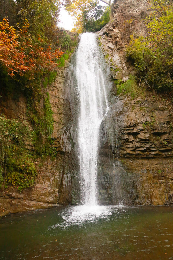 cascata, Georgia immagine stock libera da diritti