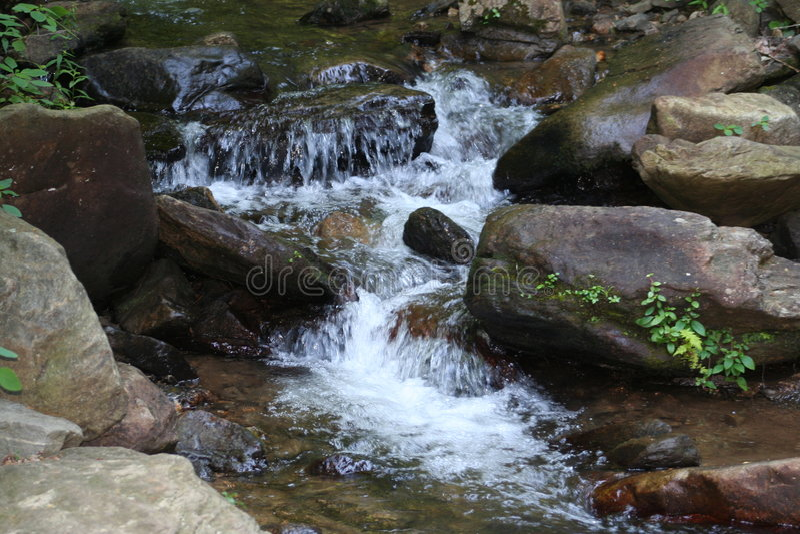 Cascata in Georgia del nord fotografia stock