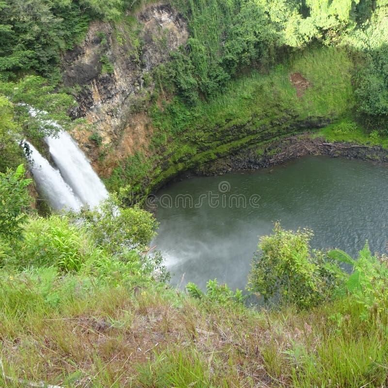 Cascata Kauai immagini stock