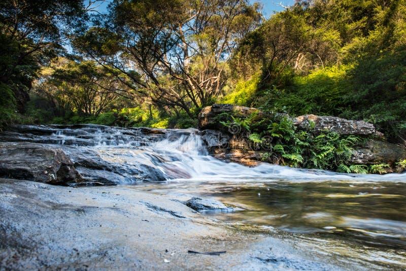 Cascata in NSW/AUSTRALIA immagini stock libere da diritti