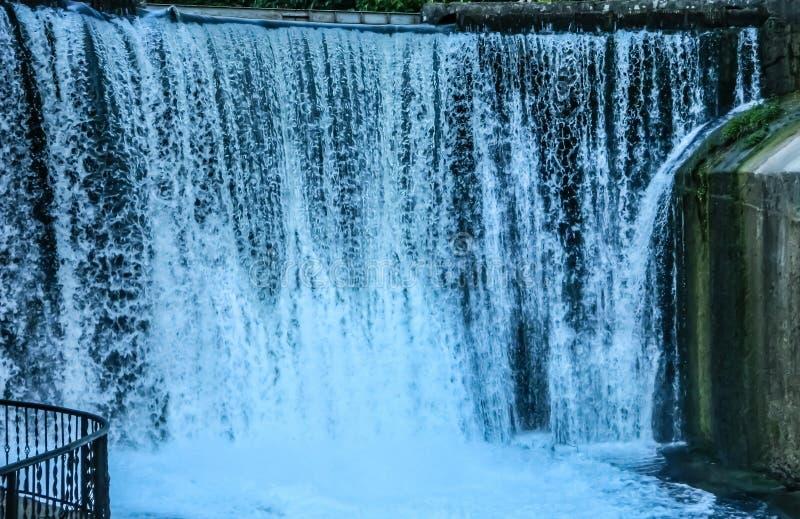 Cascata, paesaggio, natura, acqua, verdi immagini stock
