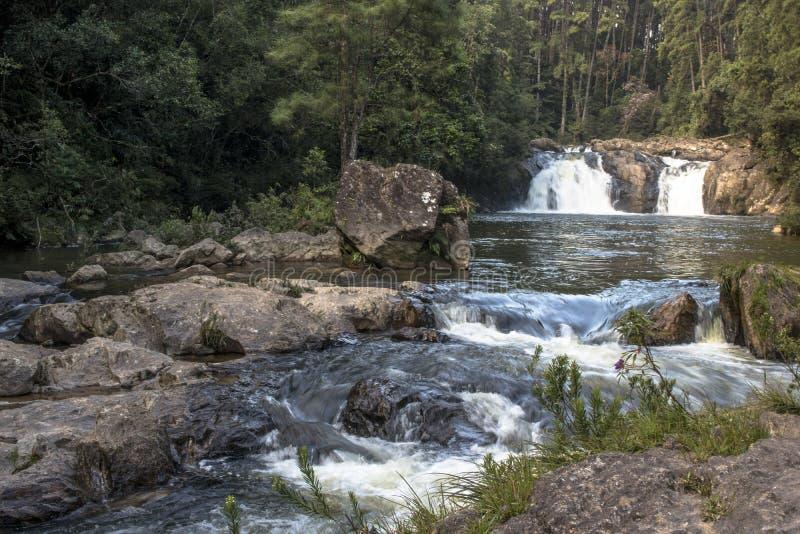 Cascata in Parelheiros immagini stock