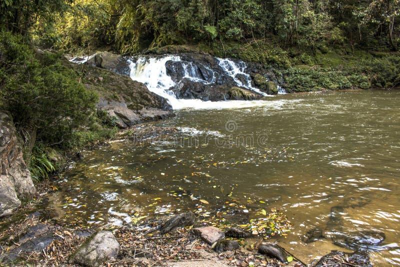 Cascata in Parelheiros fotografie stock libere da diritti