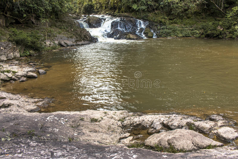 Cascata in Parelheiros immagine stock libera da diritti