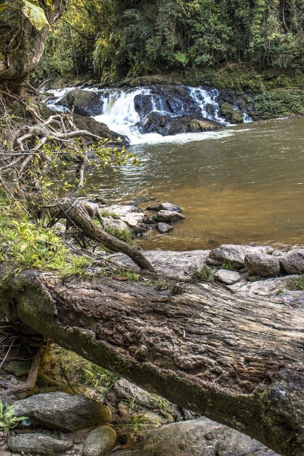Cascata in Parelheiros fotografia stock
