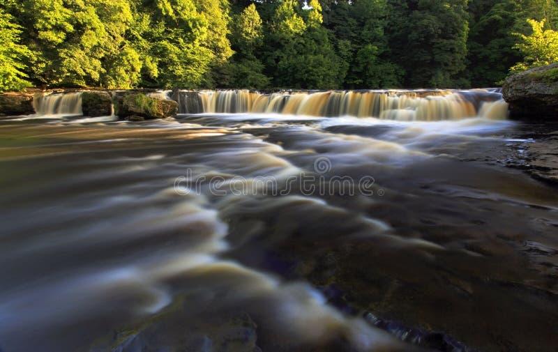 Cascata superiore Aysgarth fotografia stock libera da diritti