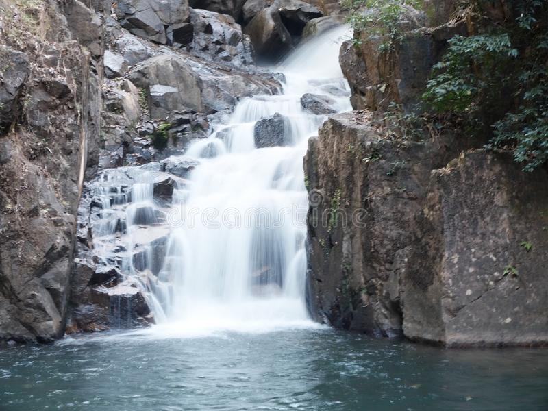 Cascata tailandese immagine stock