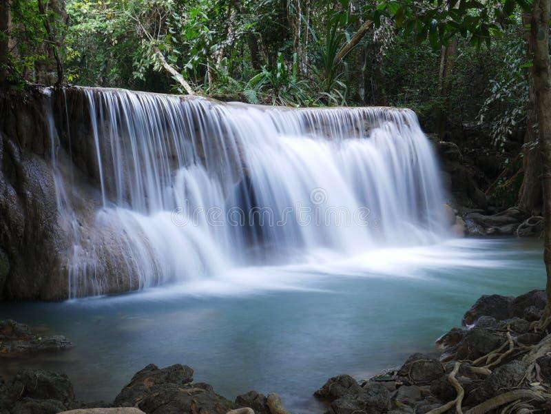 Cascata in Tailandia Natura di vista del paesaggio L immagine stock libera da diritti