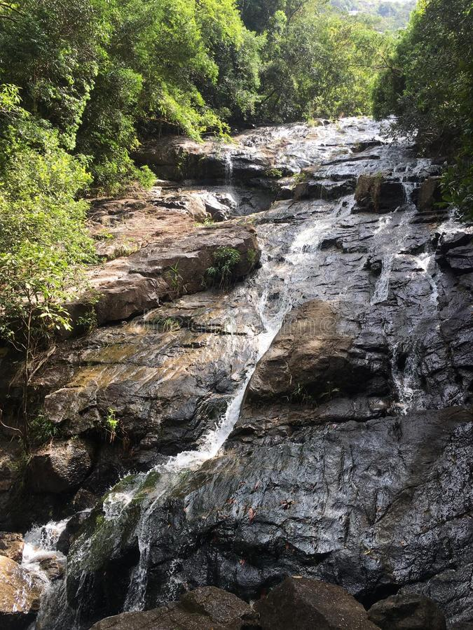 Cascata in Tailandia immagini stock libere da diritti