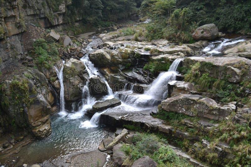 Cascata in Taiwan fotografia stock